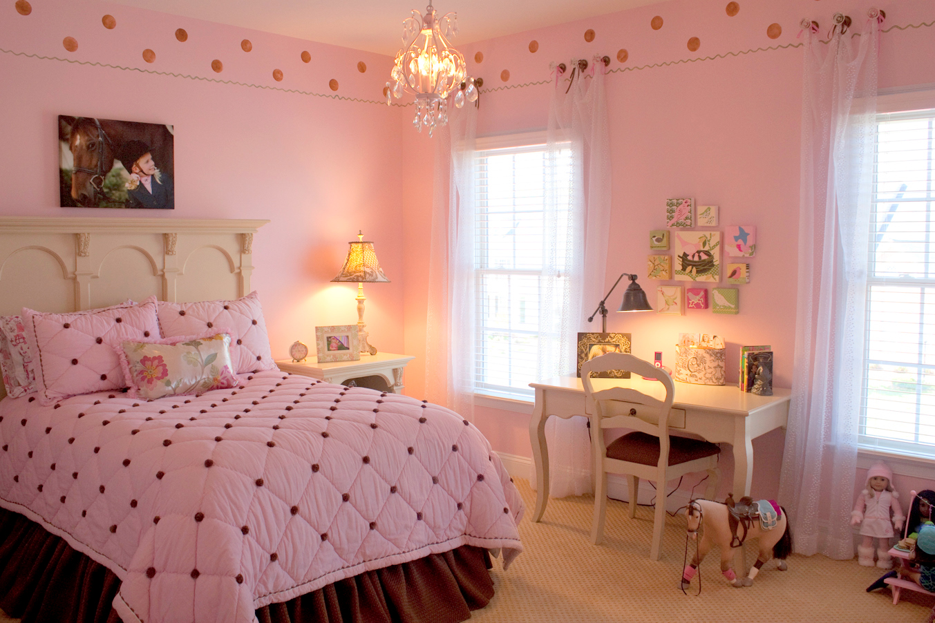 Trendy Pink Girls Bedroom Ideas 1353 x 902 · 745 kB · jpeg